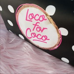Loco for Coco 🥥 PINK Makeup Bag